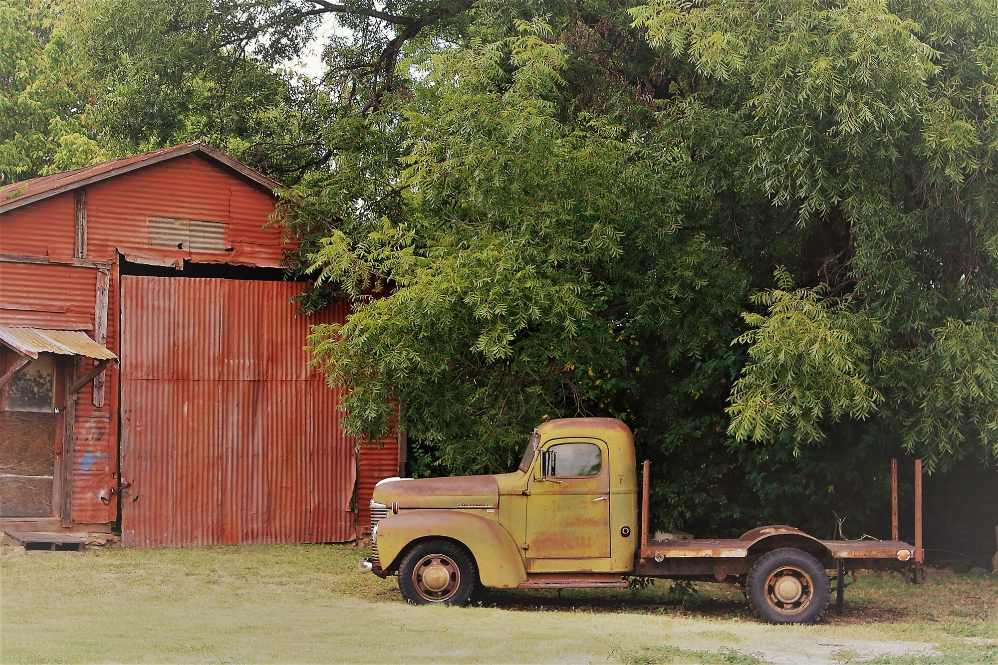 Photo of Old Farmstead in Brown County, Texas
