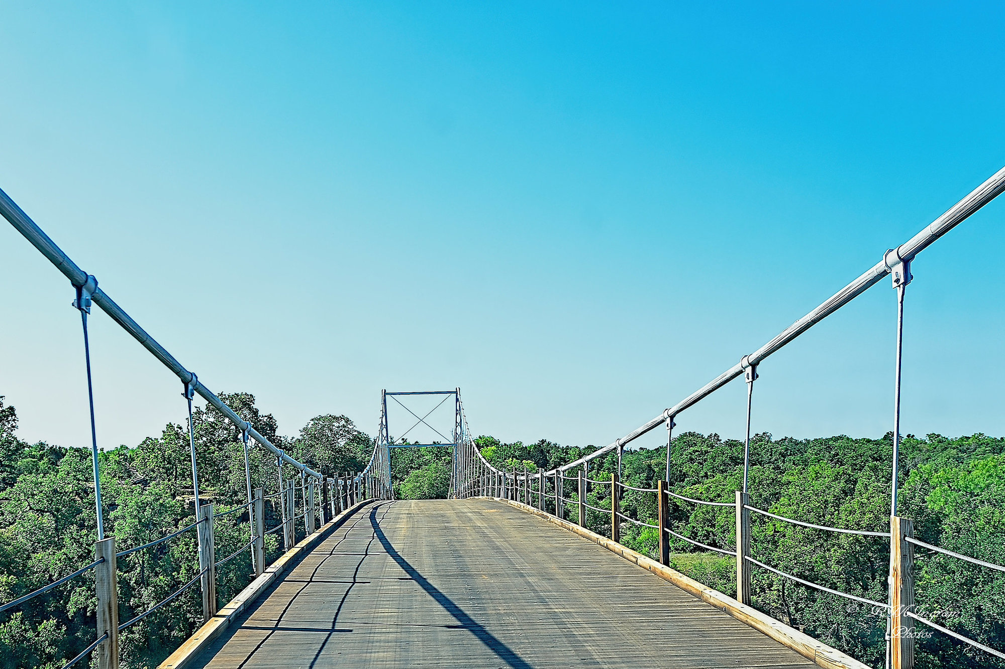 Photo of the Regency Bridge in Mills County, Texas